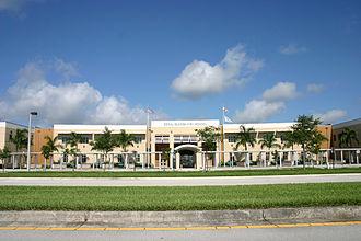 Coral Glades High School - Image: Coral Glades Hight School CS 22Jun 2008