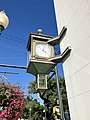 Corner Clock, Wells Fargo Bank Building, Morganton, NC (49021783462).jpg