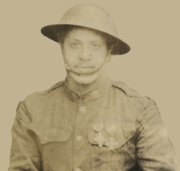 Corporal Clarence Van Allen 372nd Infantry Regiment Crop 1919.png