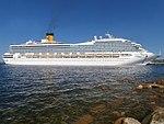Costa Magica Starboard Side Port of Tallinn 17 May 2018.jpg