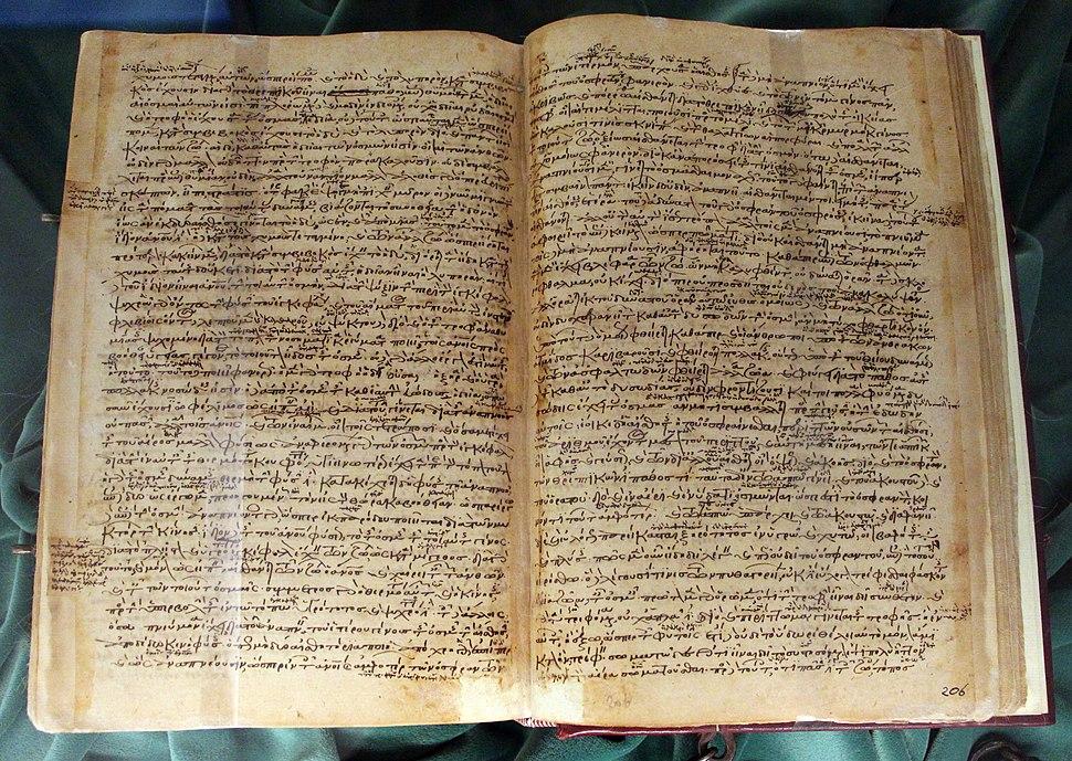 Costantinopoli, aristotele, historia animalium e altri scritti, xii sec., pluteo 87,4
