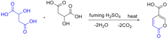 Malic acid - Coumalic Acid Synthesis