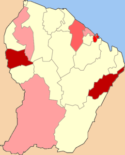 COVID-19 pandemic in French Guiana Ongoing COVID-19 viral pandemic in French Guiana, France