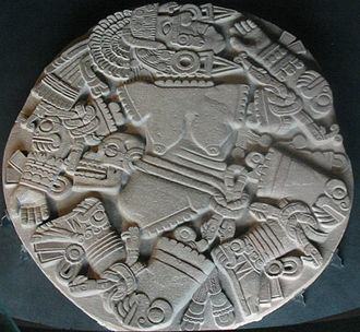 Coyolxauhqui Stone - Image: Coyolxauhqui Disk cropped