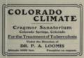 "Cragmor Sanatorium (""American medical directory"", 1906 advert).png"
