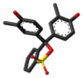 Cresol red cyclic 3D skeletal.png