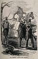 Crimean War, Russia; Dr. Bretts' ambulance litter. Wood engr Wellcome V0015375.jpg
