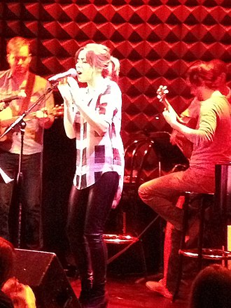 Cristin Milioti - Milioti at Joe's Pub in New York, 2013