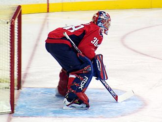 Cristobal Huet - Huet with the Washington Capitals, March 2008