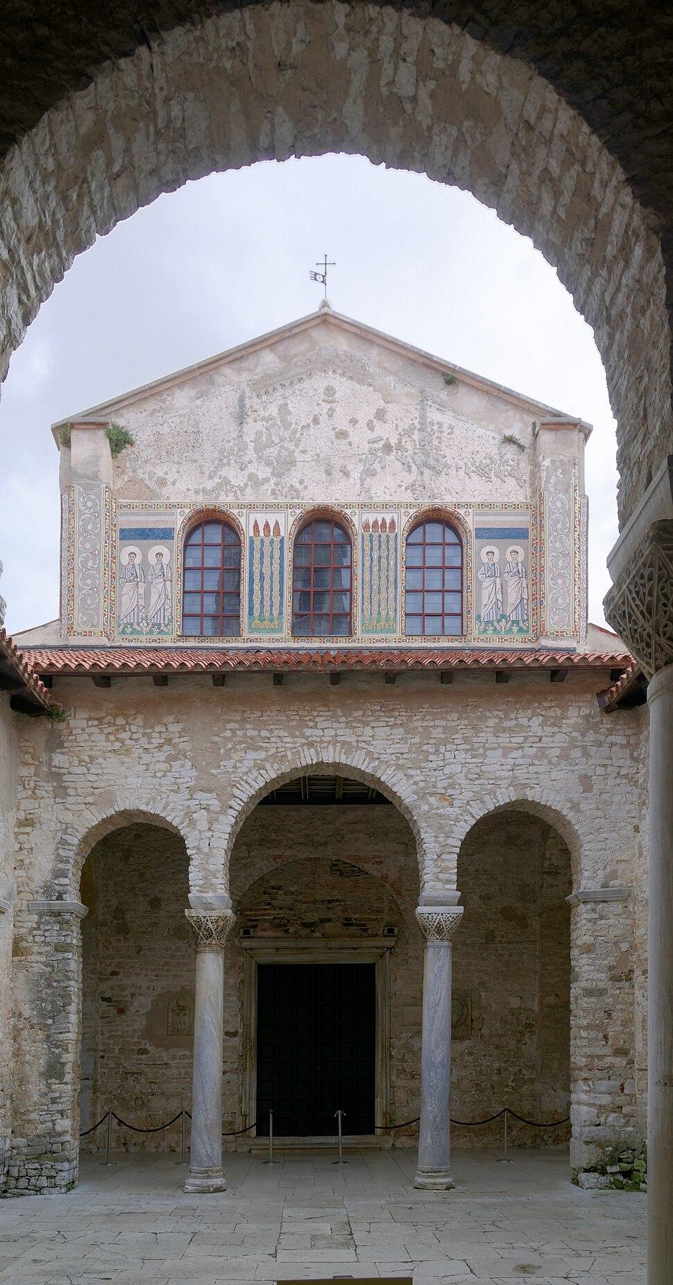 Croatia Porec Euphrasius Basilika BW 2014-10-08 11-02-20