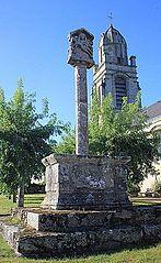 croix de cimetière de Brech