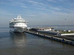 Puerto de pasajeros de San Petersburgo