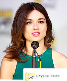 Crystal Reed na Comic-Conu 2013