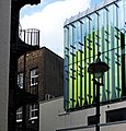 Cubes, Curves ^ Colour, Charing X Road, London. - panoramio.jpg