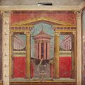 Cubiculum (bedroom) from the Villa of P. Fannius Synistor at Boscoreale MET DP144405.jpg