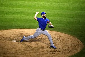 2016 Chicago Cubs season - Jake Arrieta was the starting pitcher in Game 6