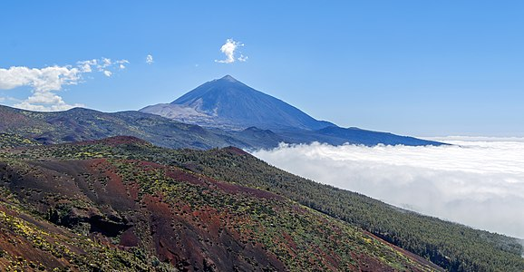 Cumbre Dorsal with Mount Teide, Tenerife