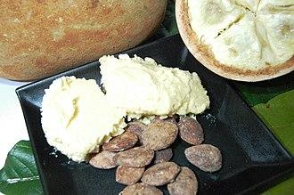 Cupuaçu - Cupuaçu butter (manteiga de cupuaçu)