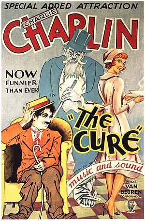 Motion picture credits - Theatrical poster to The Cure