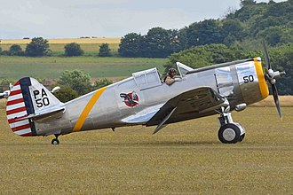 The Fighter Collection - Image: Curtiss P 36C Hawk 'PA 50' (NX80FR) (20147422405)