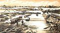 Cutting, Flooded after high tide 17 Oct 1883 (G J Stodart 1887).jpg