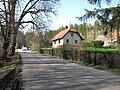 Dům v bývalé vesnici Penčice.JPG