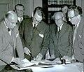 D. Ymer, Alf Grandien, Yngve Larsson, John Bergvall, Gosta Wennström and Helge Berglund.jpg