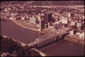 DOWNTOWN CHARLESTON, CENTER OF THE KANAWHA VALLEY REGION WHICH IS ONE OF THE CHIEF CHEMICAL CENTERS OF THE WORLD - NARA - 551189.tif