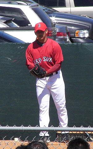 Daisuke Matsuzaka - Matsuzaka in 2007 spring training