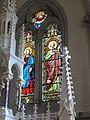 Dangé-Saint-Romain (Vienne) Église Saint-Pierre, vitrail 08.JPG
