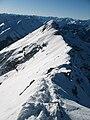 Daniel-Upsspitze Gipfelgrat nach West.JPG