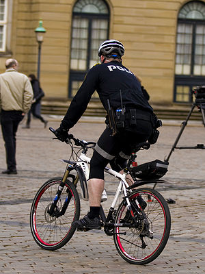 300px Danish bicycle police 2 - Elmira Bicycle Accident Lawyer: Police Bike Patrols Important for Many Reasons!