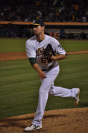 Dan Otero - Otero with the Oakland Athletics in 2013