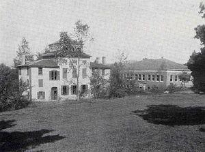 Geisel School of Medicine - The Dartmouth Medical School campus, from 1915 or earlier.