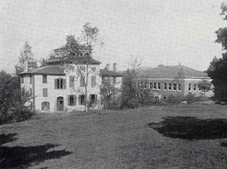 Geisel School of Medicine - The Dartmouth Medical School campus, from 1915 or earlier.
