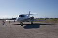 Dassault-Breguet Mystère Falcon 20F-5 N9TE LFront TICO 16March2014 (14662325661).jpg