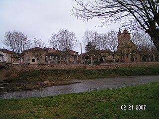 Daumazan-sur-Arize Commune in Occitanie, France