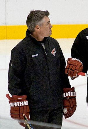 Arizona Coyotes - Named head coach in September 2009, Dave Tippett led the Coyotes to their first division championship and three consecutive playoffs. Tippett left the Coyotes in 2017.