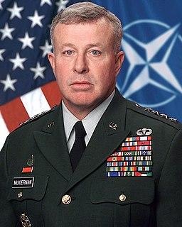 David D. McKiernan US Army general