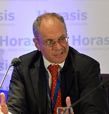 David Landsman at Horasis Global India Business Meeting 2014.jpg