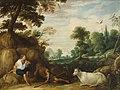 David Teniers (I) - Mercurius fluitspelend voor Argus - GG 745 - Kunsthistorisches Museum.jpg