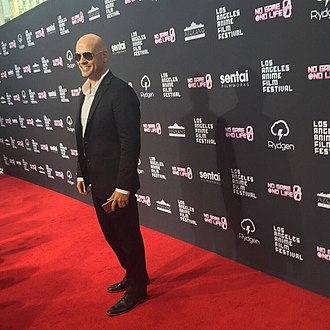 David Vincent (actor) - Celebrity Guest at the LA Anime Film Festival 2017 Red Carpet Event.