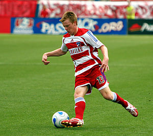 Dax McCarty - McCarty playing for FC Dallas