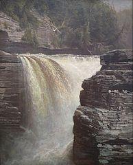 Trenton Falls near Utica, New York