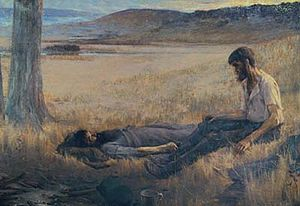 Robert O'Hara Burke - Artur Loureiro, Death of Burke, 1892, private collection