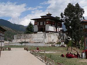 Dechen Phodrang Monastery - Dechen Phodrang monastic school