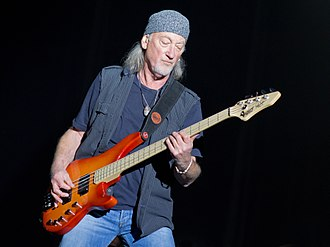 Roger Glover - Glover performing live with Deep Purple in 2013
