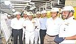Defence Secretary reviews indigenous Aircraft Carrier project at Kochi, 2018 (1).jpg