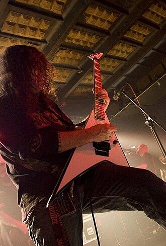 Ralph Santolla - Ralph Santolla live with Deicide, 2009