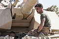 Delta Company tanks roll through Shir Ghazay 130427-M-RO295-055.jpg